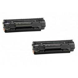 Dual Pack Toner Ricostruito HP LaserJet M1120 MFP  M1120N MFP M1522N MFP M1522NF MFP P1505 P1505N P1515