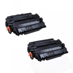 Dual Pack Toner Ricostruito HP LaserJet P3015 P3015D P3015DN P3015X LJ Enterprise 500 M525dn 500 M525f