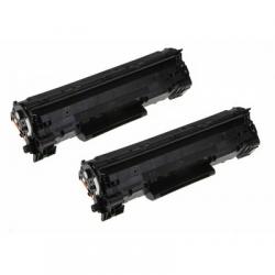 Dual Pack Toner Ricostruito HP LaserJet P1606 P1606dn Pro P1566 Pro M1536dnf