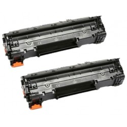 Dual Pack Toner Ricostruito HP LaserJet P1106 Pro P1102 Pro P1102w Pro M1132 Pro M1212nf  Pro M1217nfw